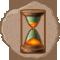 Reloj de arena tropical